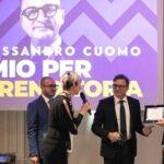 """Assegnato ad Alessandro Cuomo il """"Premio all'Imprenditoria"""" di Fenimprese"""