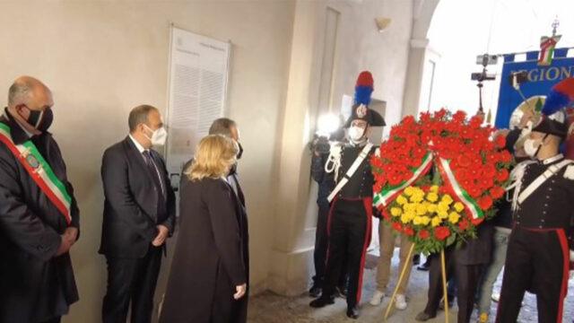 Sedici anni fa l'omicidio di Franco Fortugno, cerimonia di commemorazione