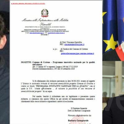 """Crotone, sulle osservazioni al PITESAI  Vincenzo Garrubba invita Voce e Sorgiovanni a non """"raccontare storielle"""""""
